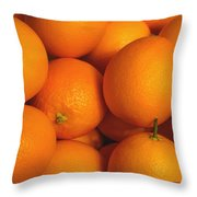 Lots Of Oranges Throw Pillow