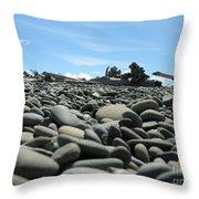 Lots Of Rocks Throw Pillow