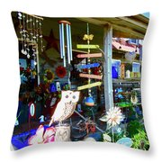 Lots Of Stuff Throw Pillow