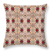 Lotus Bloom Spreading Peace In Mind Throw Pillow