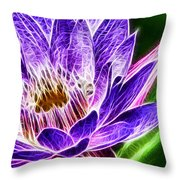 Lotus Close-up Throw Pillow