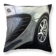 Lotus Exige Rear Side Throw Pillow