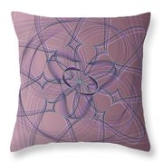 Lotus Flow 10-14-2015 #1 Throw Pillow