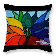 Lotus Flower 1 Throw Pillow