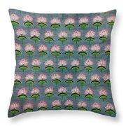 Lotus Pichwai Miniature Throw Pillow