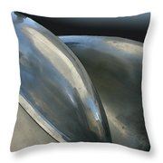 Lotus Position Throw Pillow