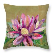Lotus Series II - 2 Throw Pillow