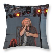 Lou Gramm Throw Pillow