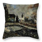 Louette St Denis  Throw Pillow