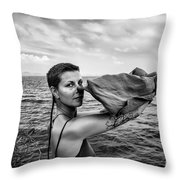 Lougaa Carine Throw Pillow