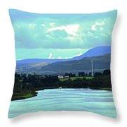 Lough Erne 2 Throw Pillow