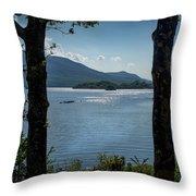 Lough Leane  Throw Pillow