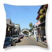 Louis Armstrong Park - Straight Ahead - New Orleans Throw Pillow