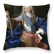 Louis De Bourbon Of Savoy. Prince Of Asturias. Later Louis I Of Spain  Throw Pillow