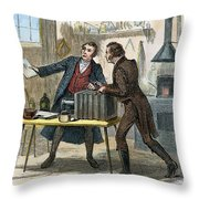 Louis J.m. Daguerre Throw Pillow