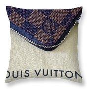 Louis Vuitton Throw Pillow