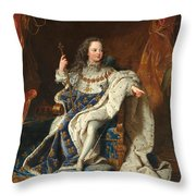 Louis Xv Of France As A Child Throw Pillow