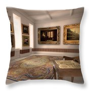 Louisbourg Before The Fall Throw Pillow