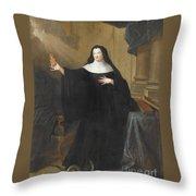 Louise Adelade Throw Pillow