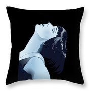 Louise Brooks In Berlin Throw Pillow