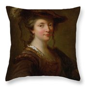Louise Julie December Throw Pillow