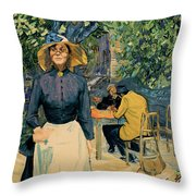 Louise, You Know The One. Chop Chop. Throw Pillow