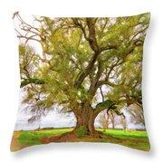 Louisiana Dreamin' Throw Pillow