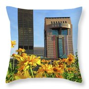 Louisville Floral Throw Pillow
