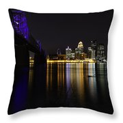 Louisville Kentucky 2 Throw Pillow