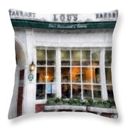 Lou's Of Hanover New Hampshire Throw Pillow