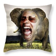 Lousy Eleman Throw Pillow