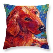 Lovable Throw Pillow