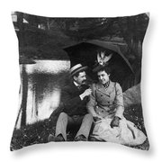 Love, 1900 Throw Pillow