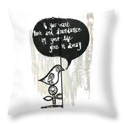 Love And Abundance Throw Pillow