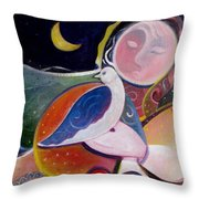 Love And Patience Throw Pillow