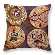 Love And Rice Cake Throw Pillow