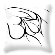Love At Rest Throw Pillow