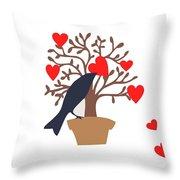 Love Bird Part 2 Throw Pillow