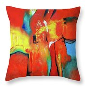 The Passage Of Power Throw Pillow