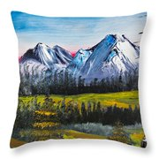 Love Can Move Mountains Throw Pillow