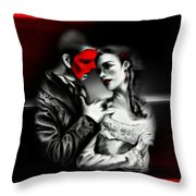 Love Couple 2 Throw Pillow