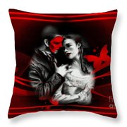 Love Couple 3 Throw Pillow