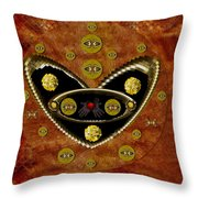 Love Day And Night And In The Future Throw Pillow