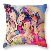 Love Fairies   Throw Pillow
