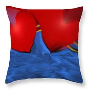 Love Flow Throw Pillow
