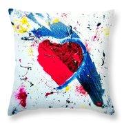 Love Fool Throw Pillow