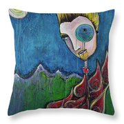 Love For Birdman Throw Pillow
