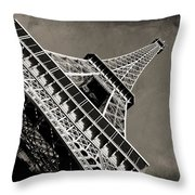 Love For Paris Throw Pillow by Ankeeta Bansal