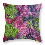 Love For Roses Throw Pillow