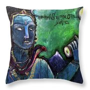 Love For Shiva Throw Pillow